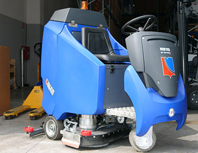 Industrial Cleaning Equipment - H815 Scrubber
